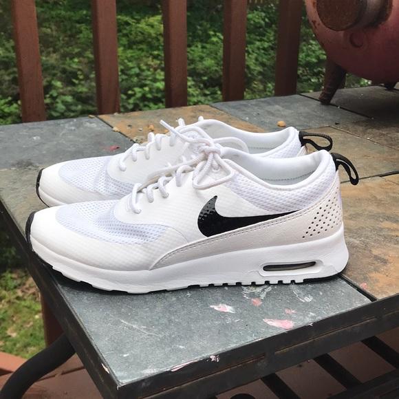 Cute White Nike Sneakers   Poshmark